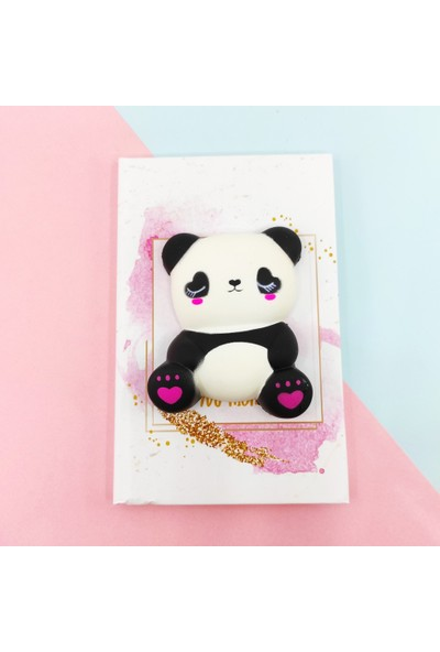 Squishy Defter A5 Panda