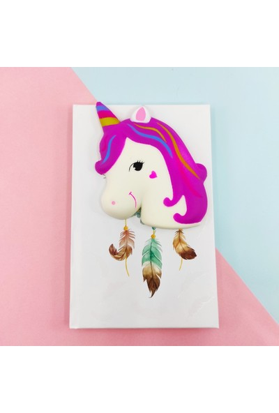 Squishy Defter A5 Unicorn
