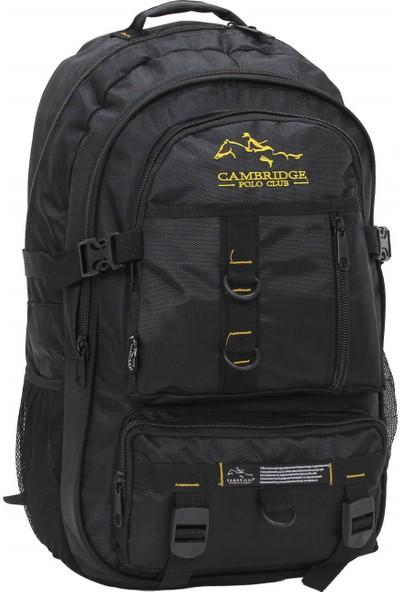 Cambridge Polo Club Dağcı Sırt Çantası PLDGC90008 Siyah