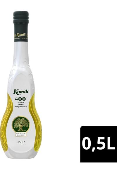 Komili 400+ Yıllık Zeytin Ağacından Elde Edilen Zeytinyağı 0,5 lt (Özel Kutusunda)
