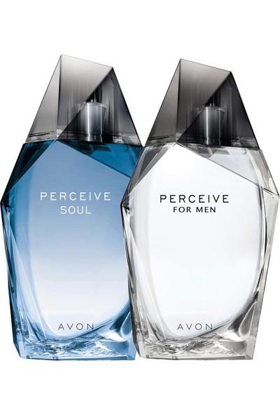 Avon Perceive Klasik ve Soul Erkek Parfüm Ikili Paket