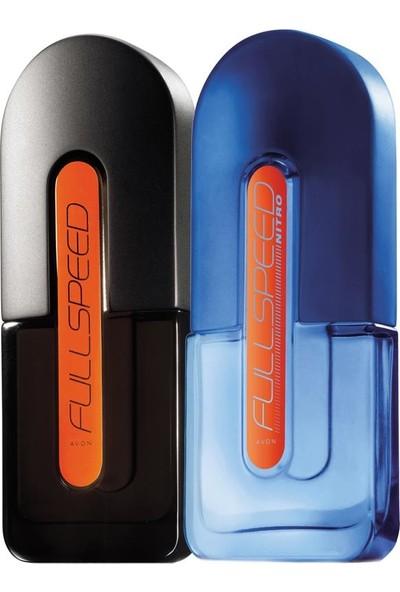 Avon Full Speed Klasik ve Nitro Erkek Parfüm Ikili Paket