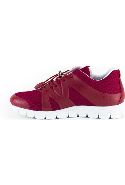 Minipicco Unisex Çocuk Kırmızı Spor Ayakkabı