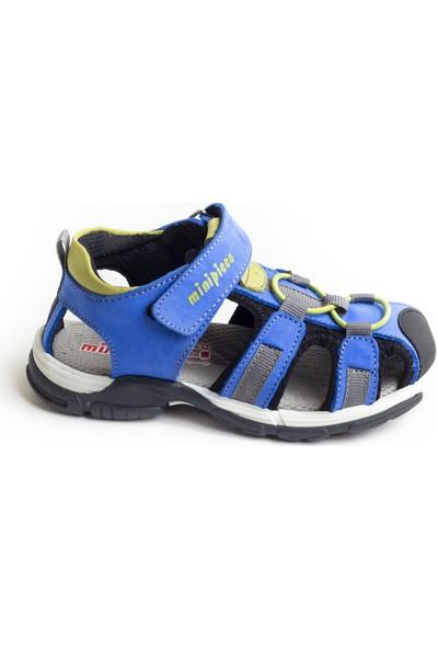 Minipicco Unisex Çocuk Sax Deri Outdoor Sandalet