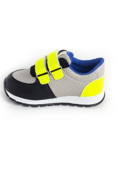 Minipicco Erkek Çocuk Gri Spor Ayakkabı