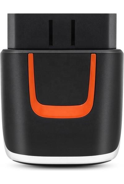 Viecar VP004 Wifi + USB Obd2 Araç Arıza Tespit Cihazı V2.2 25K80 Çip