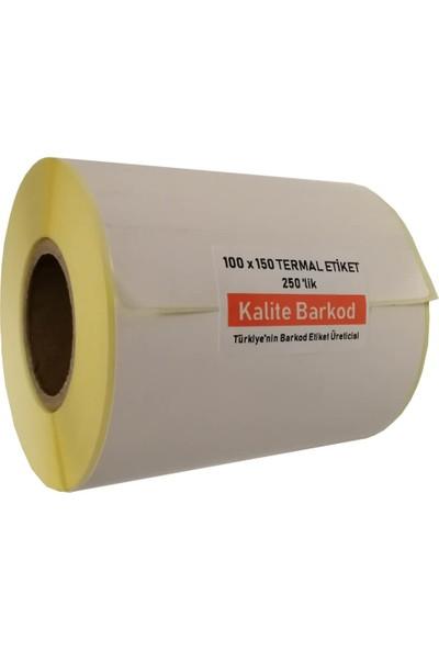 Kalite Barkod Termal Etiket 100x150