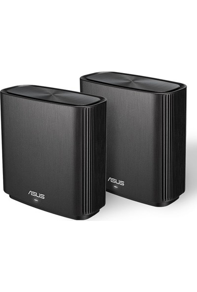 Asus ZenWifi CT8 Gaming-Ai Mesh-AiProtectionPro-Torrent-Bulut-DLNA-Kablosuz Ağ Dağıtım Mesh Sistemi(Beyaz İkili Paket)