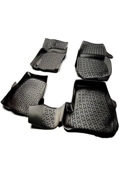 Wehhler Mercedes C Serisi W204 Rampalı Bagaj 2007-2013 Yarasa Kalıp 3D Havuzlu Paspas ve 3D Su Kanallı Flexible Bagaj Havuzu