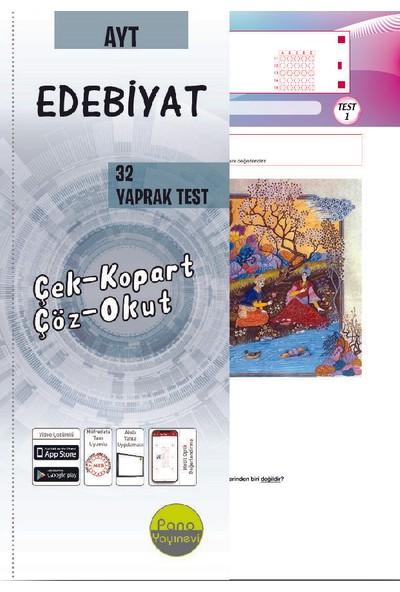 Panoayt Edebiyat Yaprak Testleri (32 Adet) Çek Kopart