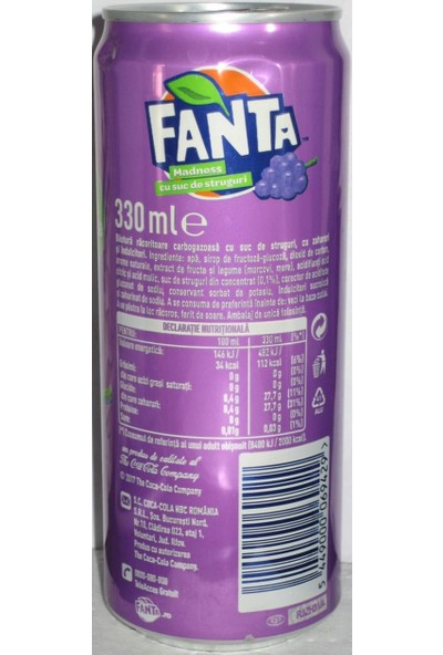 Fanta grape 330ml