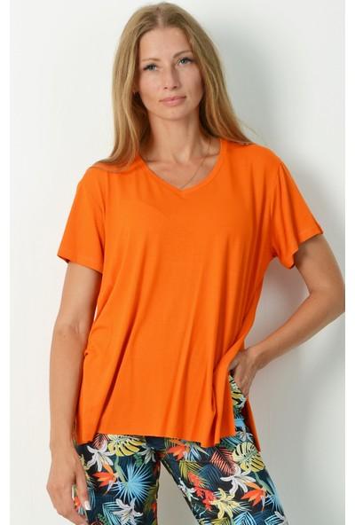 Nilmark Kadın Turuncu Bluz