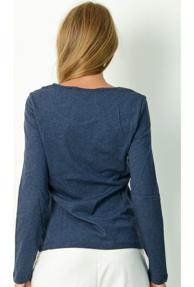 Pinkmark Kadın Mavi Bluz