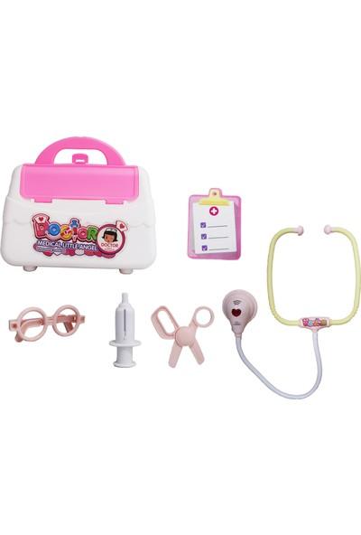 Toys e Toys 12 Parça Çantalı Oyuncak Dişçi Seti