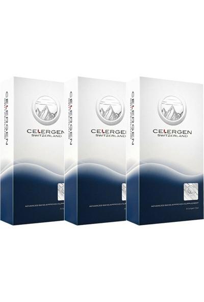 Celergen Hücre Yenileyici Besin Desteği 30 Kapsül 3'lü Avantajlı Paket
