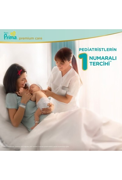 Prima Premium Care Bebek Bezi 2 Beden Yenidoğan 4-8 Kg (4*60) 240 4-8 Kg