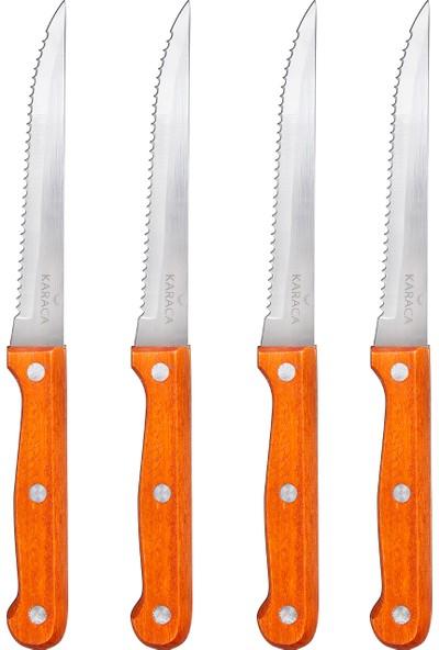 Karaca Angle Steak 4 Parça Bıçak Seti