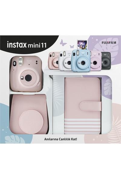 Fujifilm Instax Mini 11 Laporta Albümlü Pembe Kit