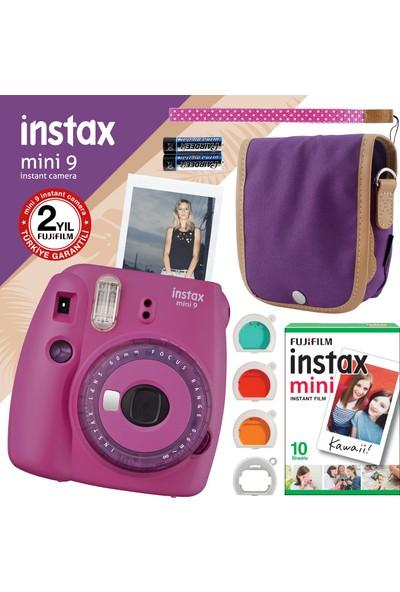 Fujifilm Instax Mini 9 Mor Fotoğraf Makinesi ve Seti 7