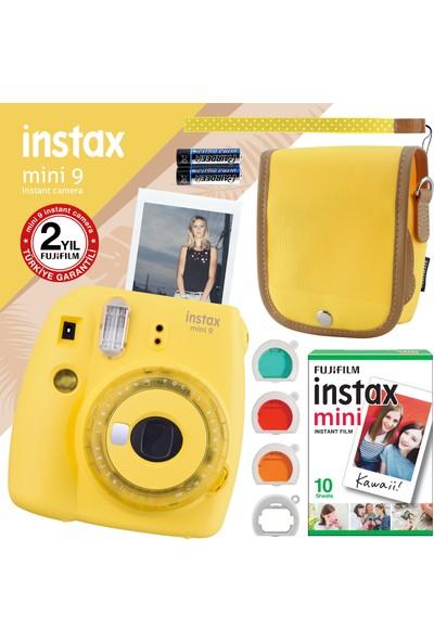 Fujifilm Instax Mini 9 Sarı Fotoğraf Makinesi ve Seti 7