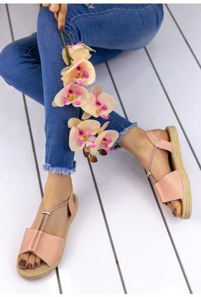Erbilden Emily Pudra Cilt Sandalet