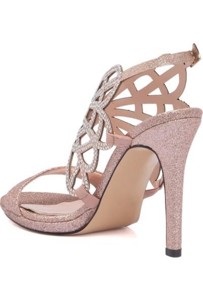Tergan Bakır Tekstil Kadın Ayakkabı 64268K4U