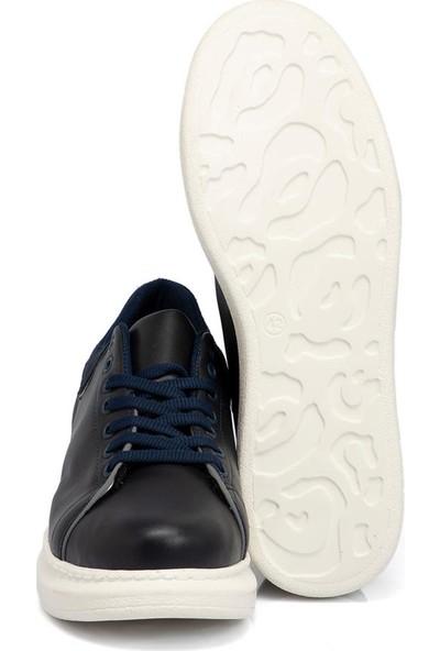 Tergan Teryy Lacivert Vegan Erkek Ayakkabı 110019B20