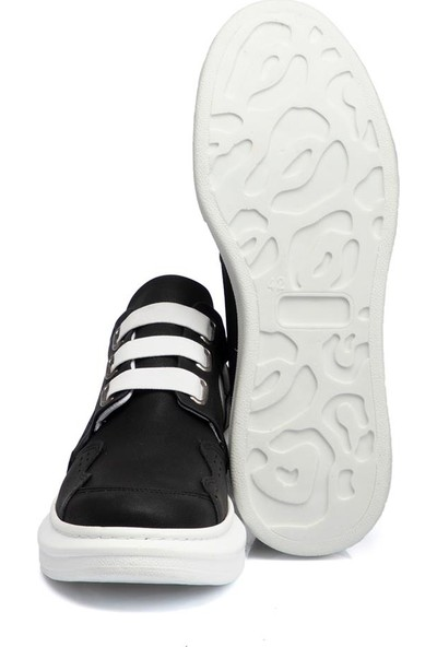 Tergan Teryy Siyah Vegan Erkek Ayakkabı 110042D62