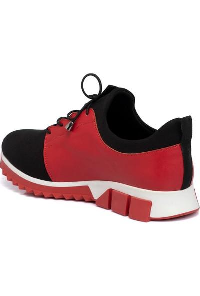 Tergan Teryy Siyah Vegan Kadın Ayakkabı 210134F1J
