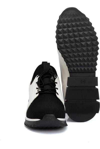 Tergan Teryy Siyah Vegan Kadın Ayakkabı 210134X63