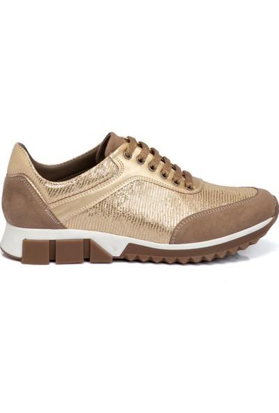 Tergan Teryy Vizon Vegan Kadın Ayakkabı 210135H04