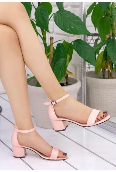 Erbilden Tori Pudra Cilt Tek Bant Ayakkabı