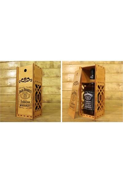 Tsd Dekorasyon Lazer Kesim Viski Hediye Kutusu