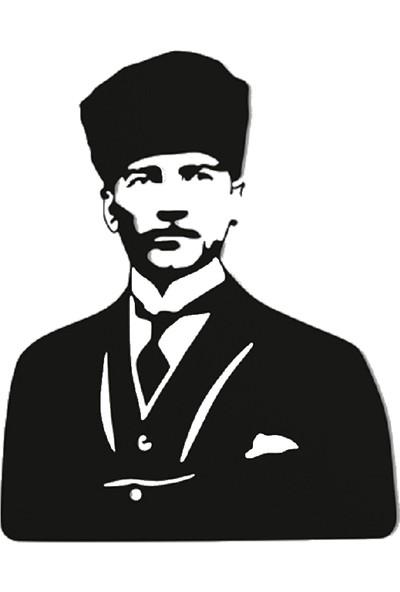Tsd Dekorasyon Lazer Kesim Mdf Tablo Atatürk TSD002