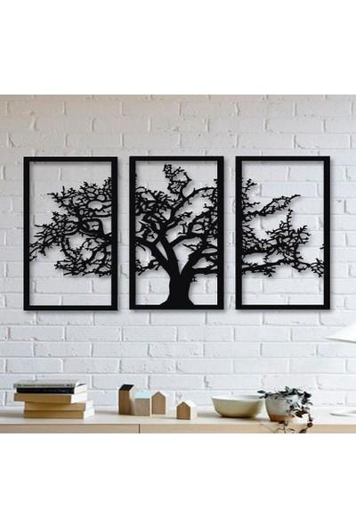 Tsd Dekorasyon Lazer Kesim Dekoratif Pano Ağaç