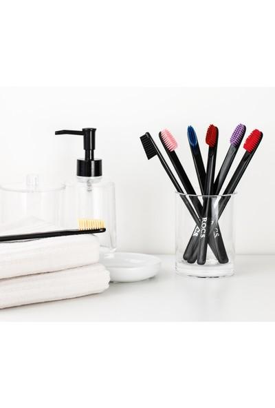 Rocs Black Edıtıon Beyazlatıcı Diş Fırçası - 4lü Set