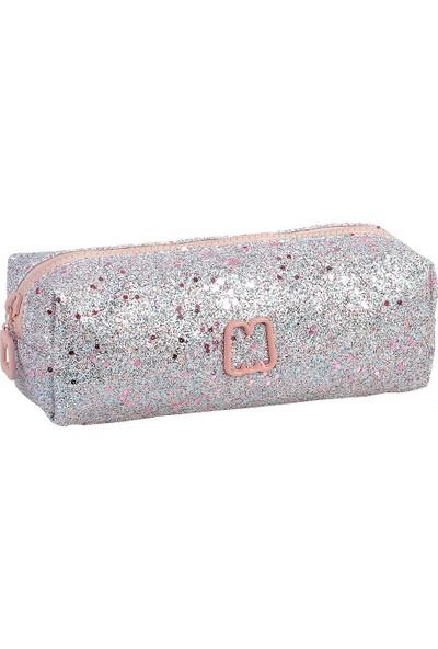Marshmallow Kalem Kutusu Half Glitter Pink 63511