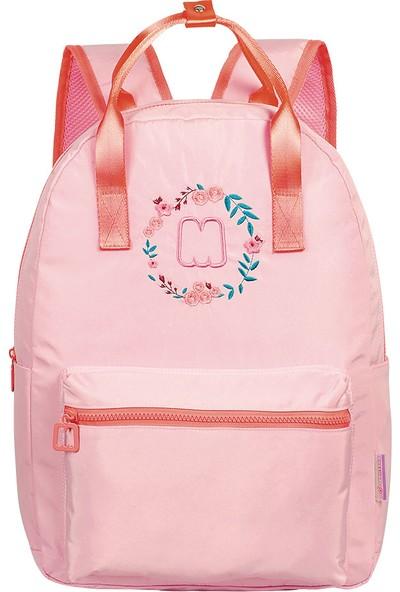Marshmallow Sırt Çantası Floral Pink 63496