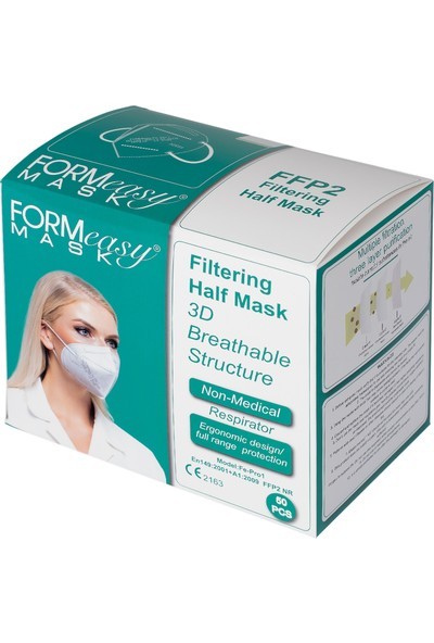 Formeasy Ffp2 Kn-95 Maske 50'li
