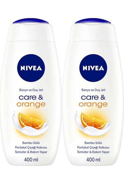 Nıvea Care&orange Kadın Duş Jeli 400 ml x 2
