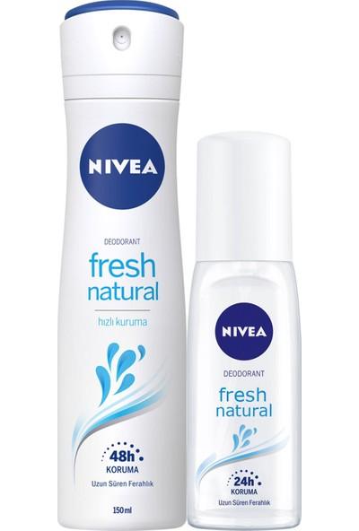 Nivea Pump Sprey Fresh Kadın + Nivea Kadın Sprey Deodorant 150 ml