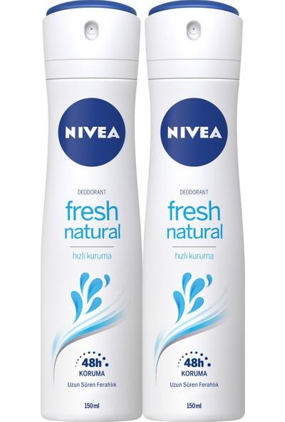 Nivea Fresh Bayan Deosprey 150 ml 2'li Paket