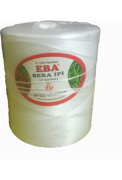 Eba Sera İpi Uv Katkılı Tarım Tarla ve Domates Bağlama Beyaz 1 kg
