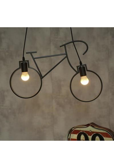Hepsiniver Home Bisiklet Bianki Modern Sarkıt Avize