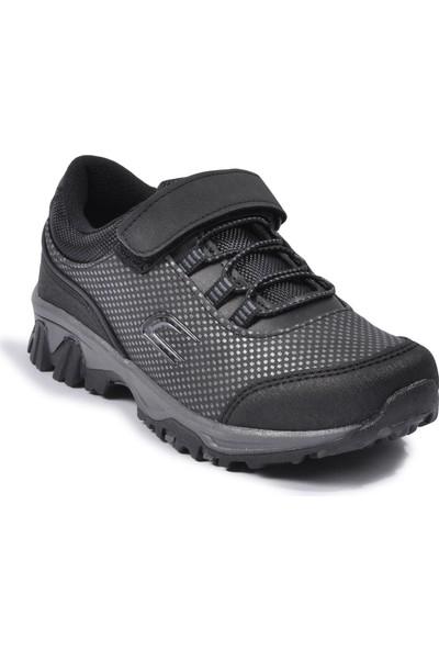 Cool Kısa Siyah Çocuk Spor Ayakkabı