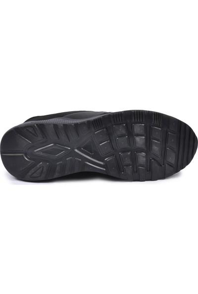 Walkway PRT-4039 Siyah-Füme Erkek Spor Ayakkabı