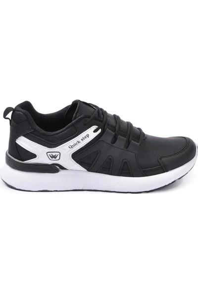 Wanderfull 4022 Siyah-Beyaz Erkek Spor Ayakkabı