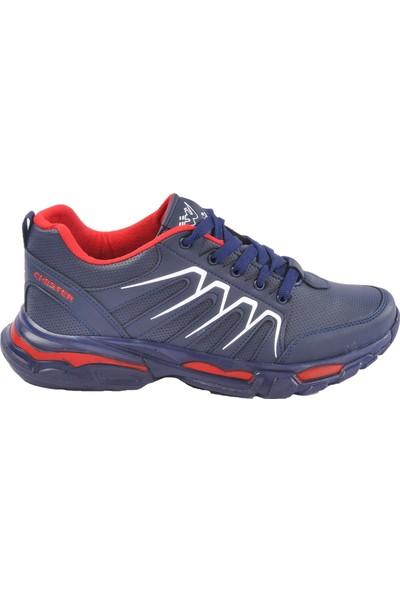 Wanderfull 4030 Lacivert-Kırmızı Erkek Spor Ayakkabı