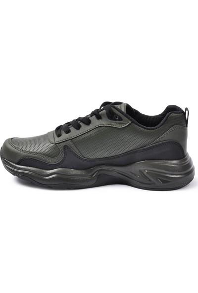 Wanderfull 4062 Haki-Siyah Erkek Spor Ayakkabı