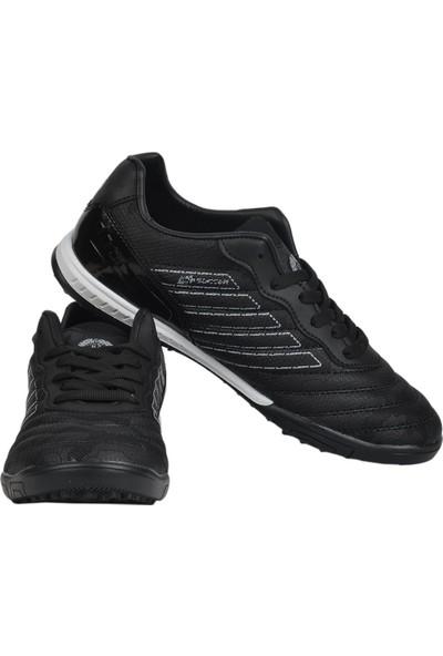 Mp 202-1510 Siyah Halısaha Çim Erkek Futbol Ayakkabı